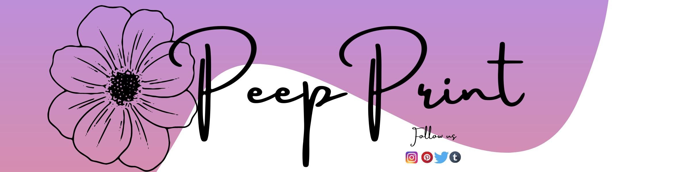 @peepprint Cover Image
