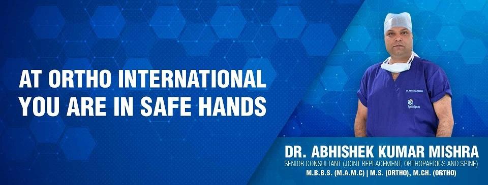 Dr. Abhishek Kumar Mishra (@orthosurgeondelhi) Cover Image