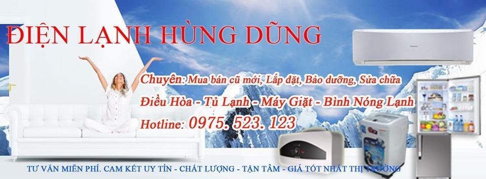 Điện lạnh Hùng Dũng (@dienlanhhungdung) Cover Image