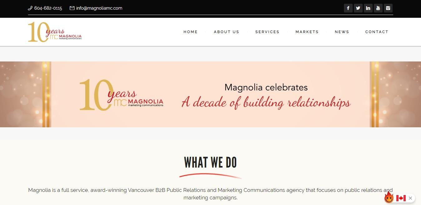 Magnolia Marketing Communications (@magnoliamc) Cover Image