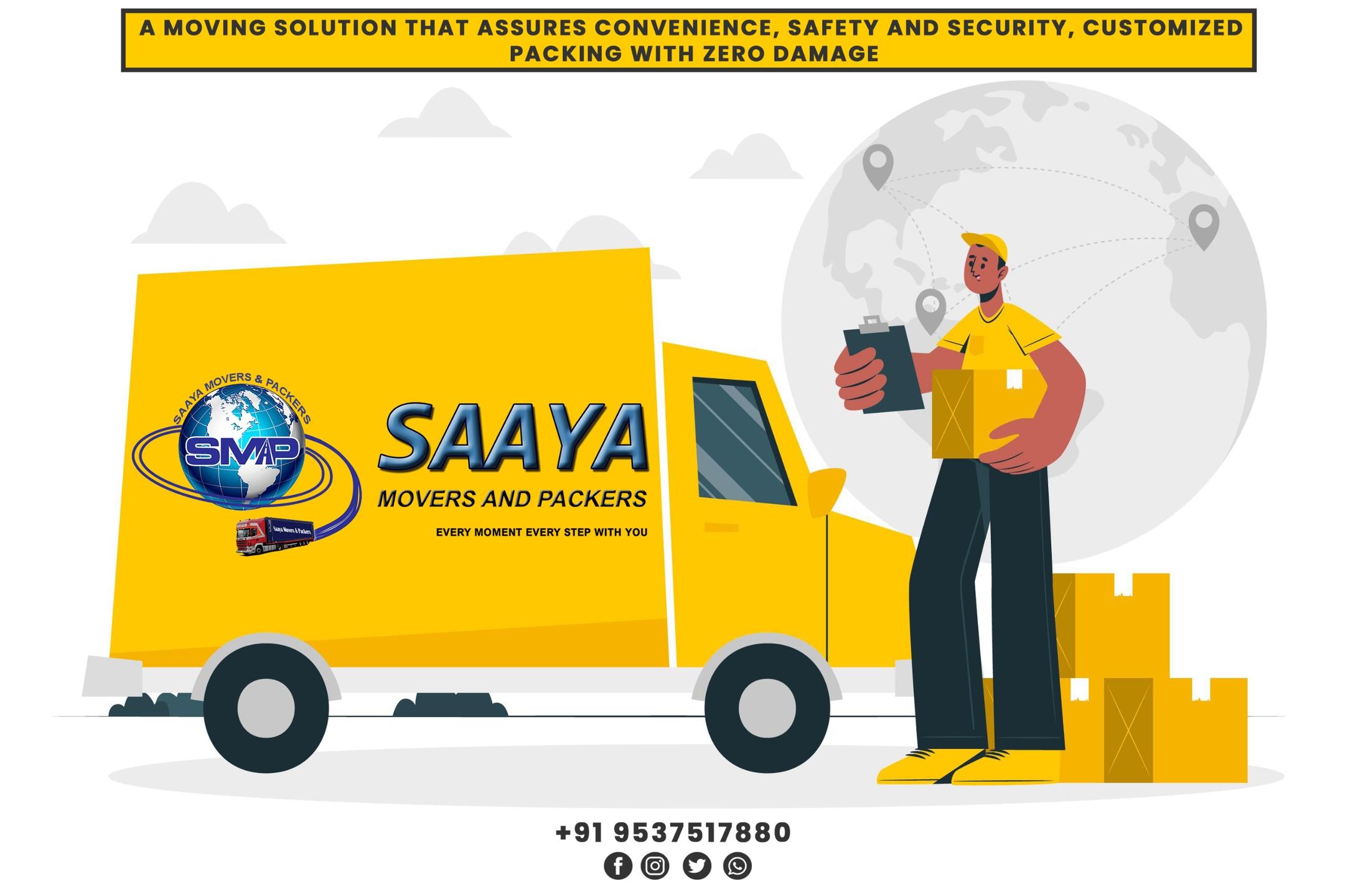 Saaya Movers (@saayamovers) Cover Image
