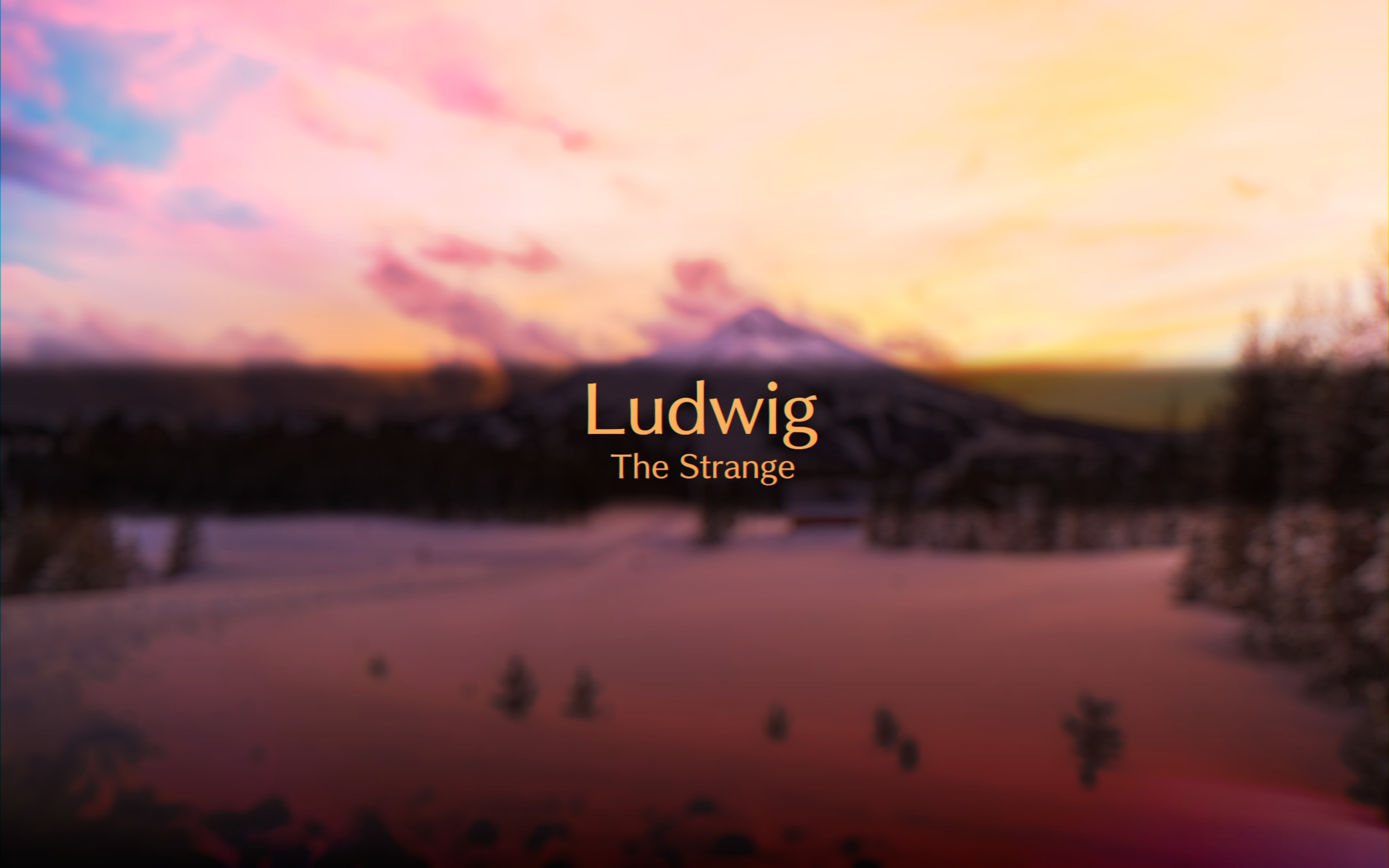 Ludig (@ludwigthestrange) Cover Image