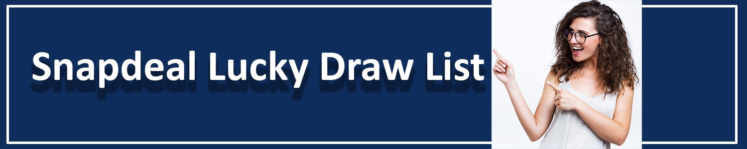(@snapdealluckydrawlist) Cover Image