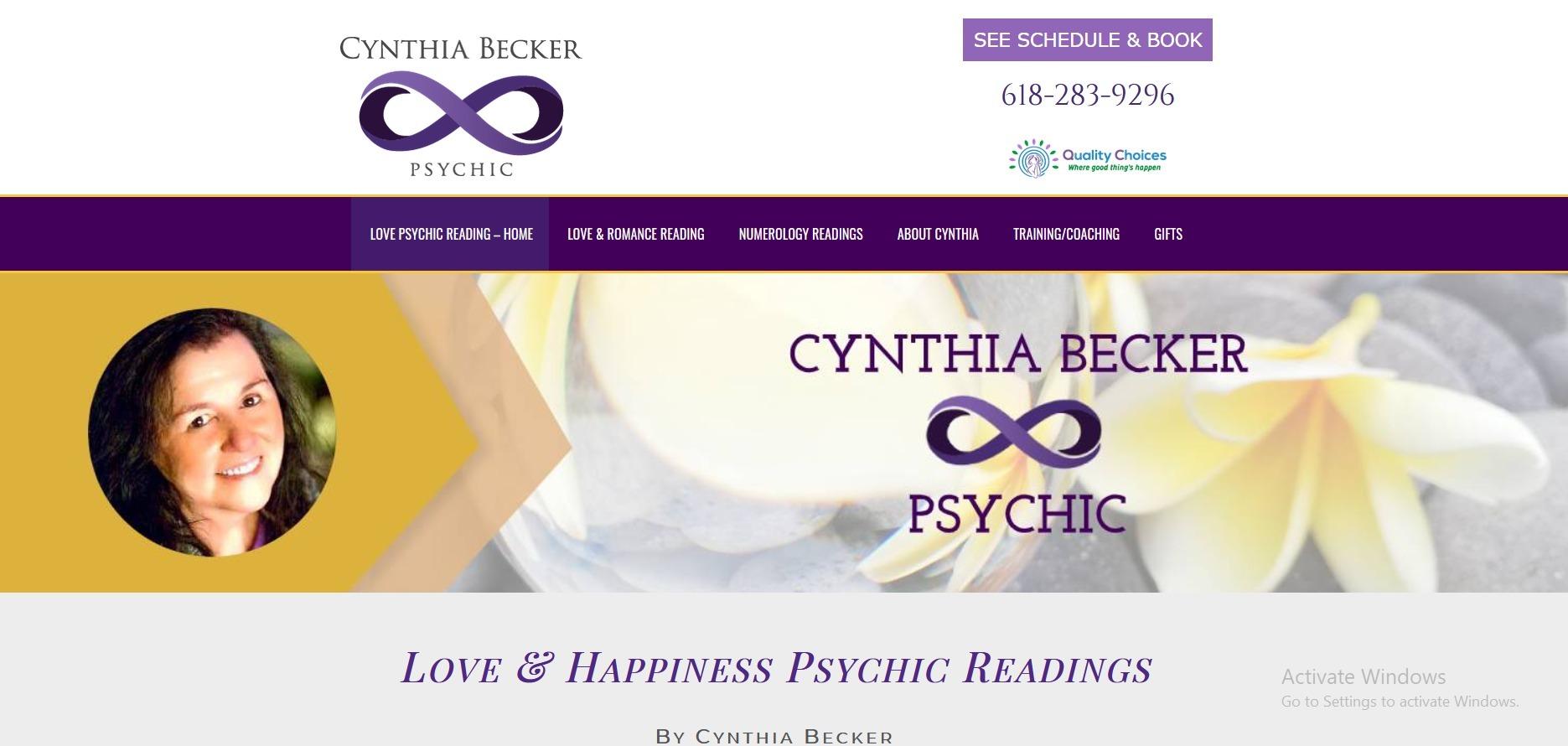 Psychic Cynthia Becker (@cynthiabecker) Cover Image
