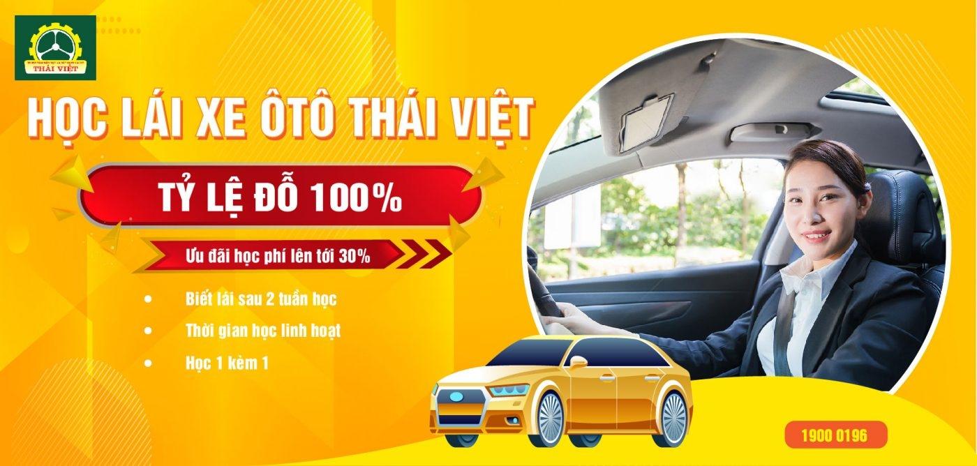 Học lái xe ô tô Thái Việt (@hoclaixeotothaiviet) Cover Image