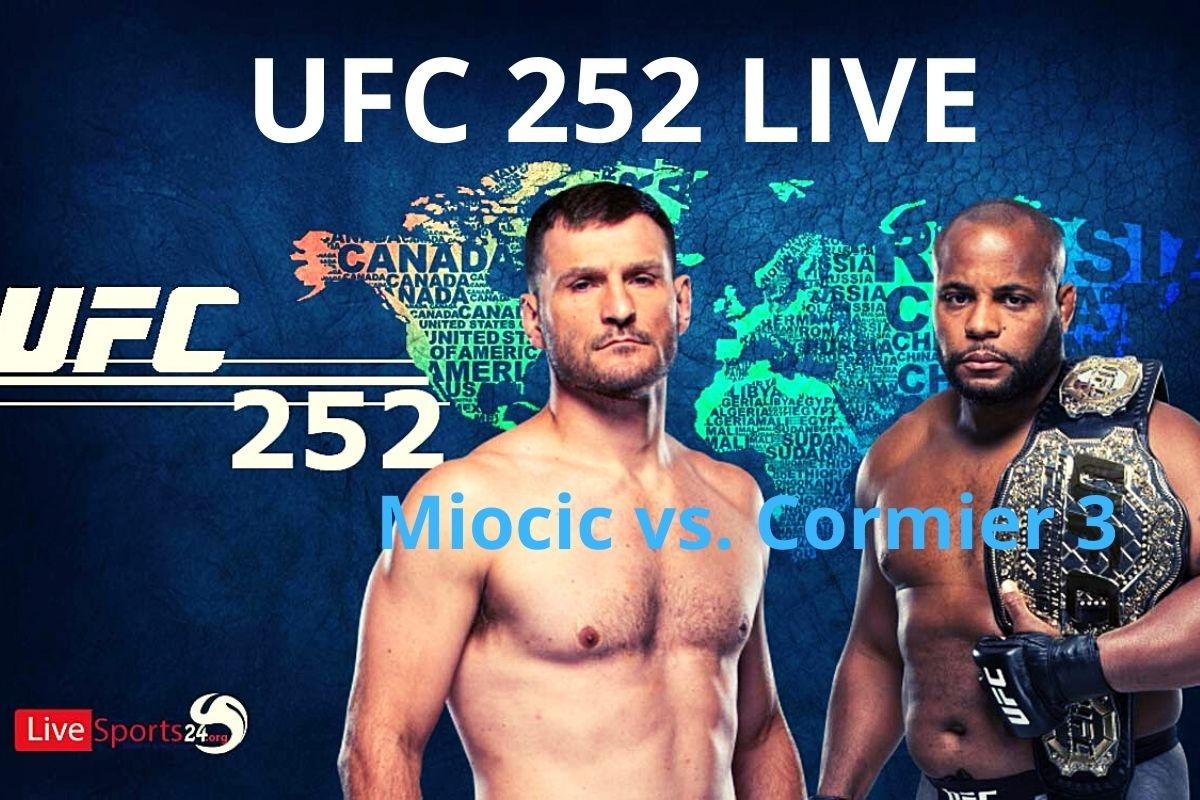 UFC 252 live stream  (@sportsliveon) Cover Image