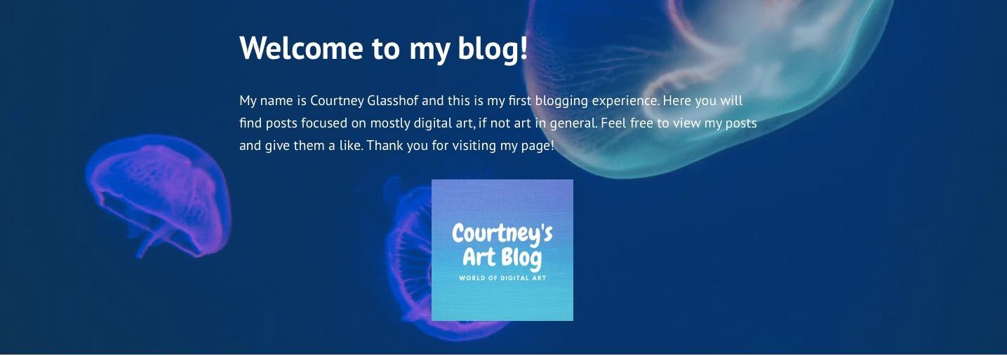 Courtney (@courtneysartblog) Cover Image
