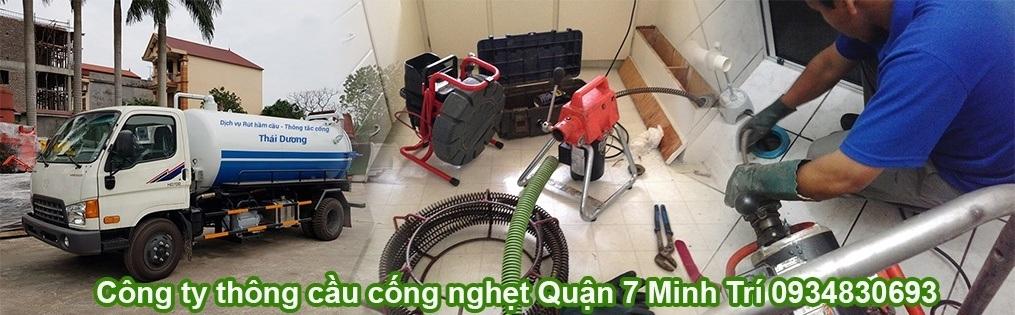 Thông cầu cống nghẹt Quận 7 Minh Trí (@thongcongq7minhtri) Cover Image