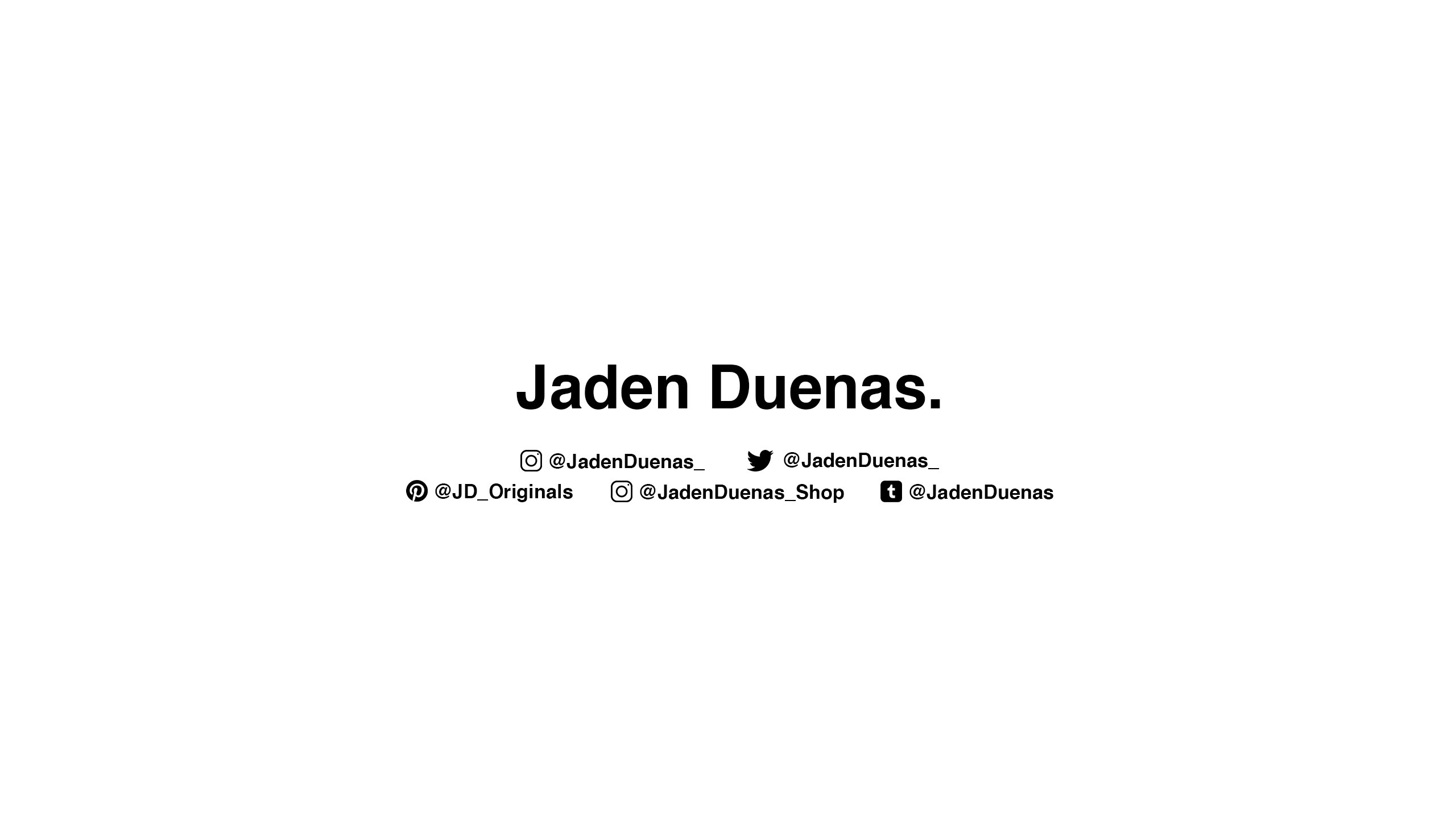 Jaden Duenas. (@jadenduenas_) Cover Image