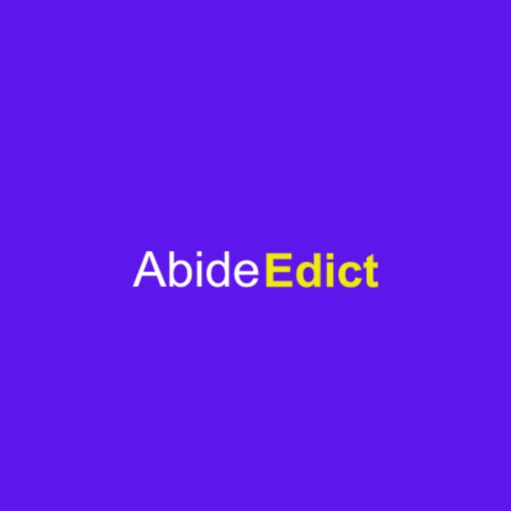 Abide  (@abide_edict) Cover Image