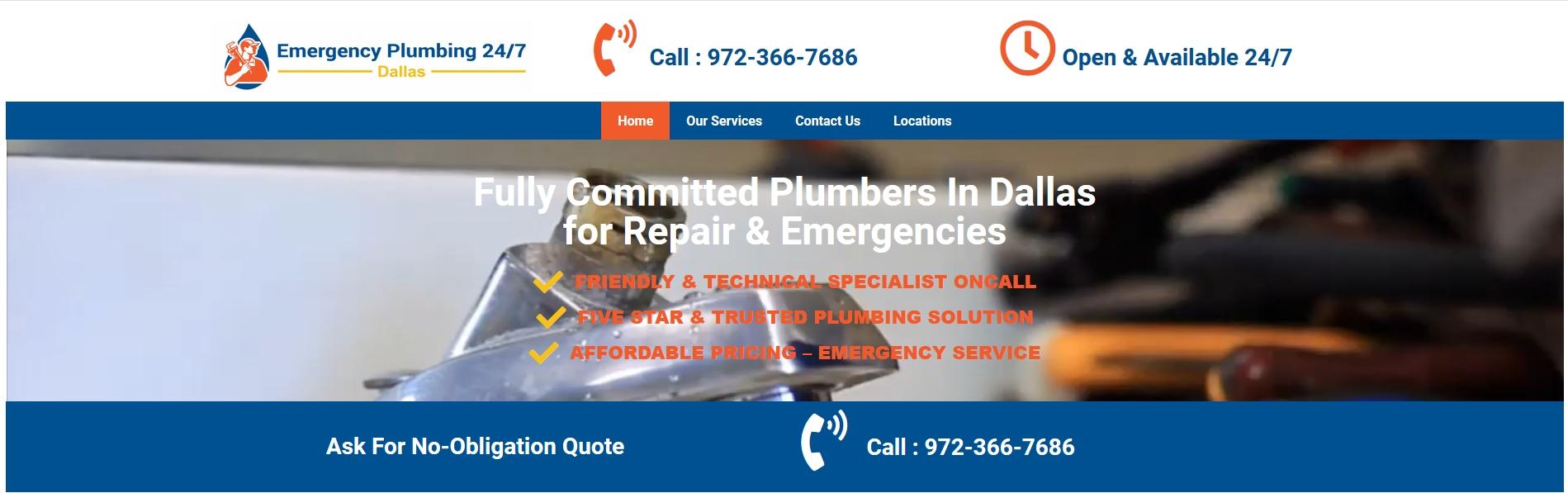 Dallas Emergency Plumber (@dallasemergencyplumber) Cover Image