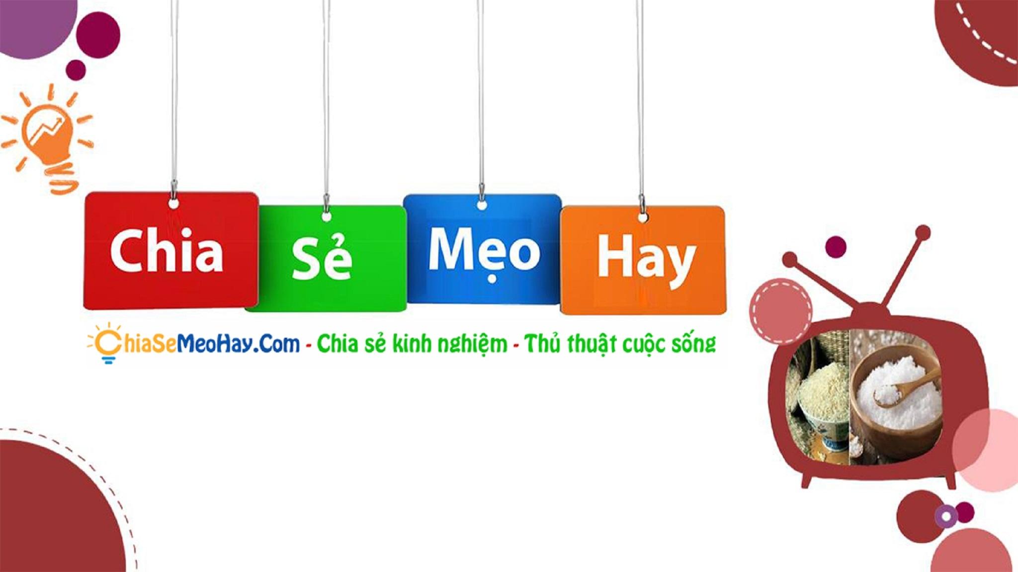 Chia Sẻ Mẹo Hay (@chiasemeohay) Cover Image