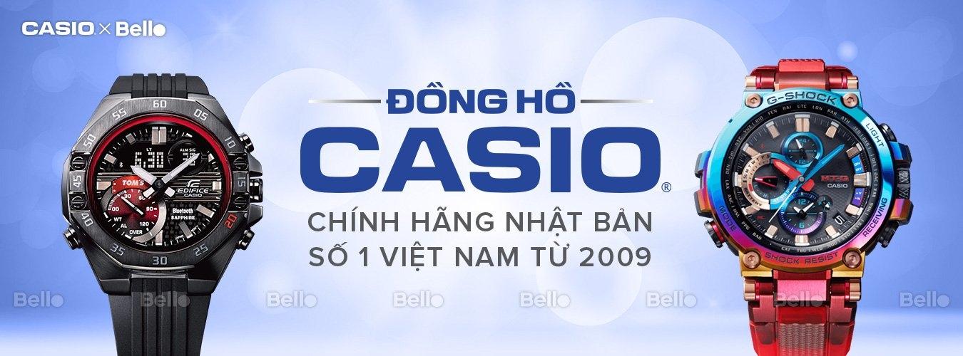 Đồng hồ Casio Chính hãng (@donghocasio2009) Cover Image