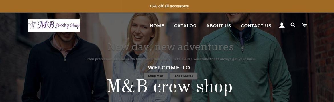 M&B crew Shop (@mbcrewshop) Cover Image
