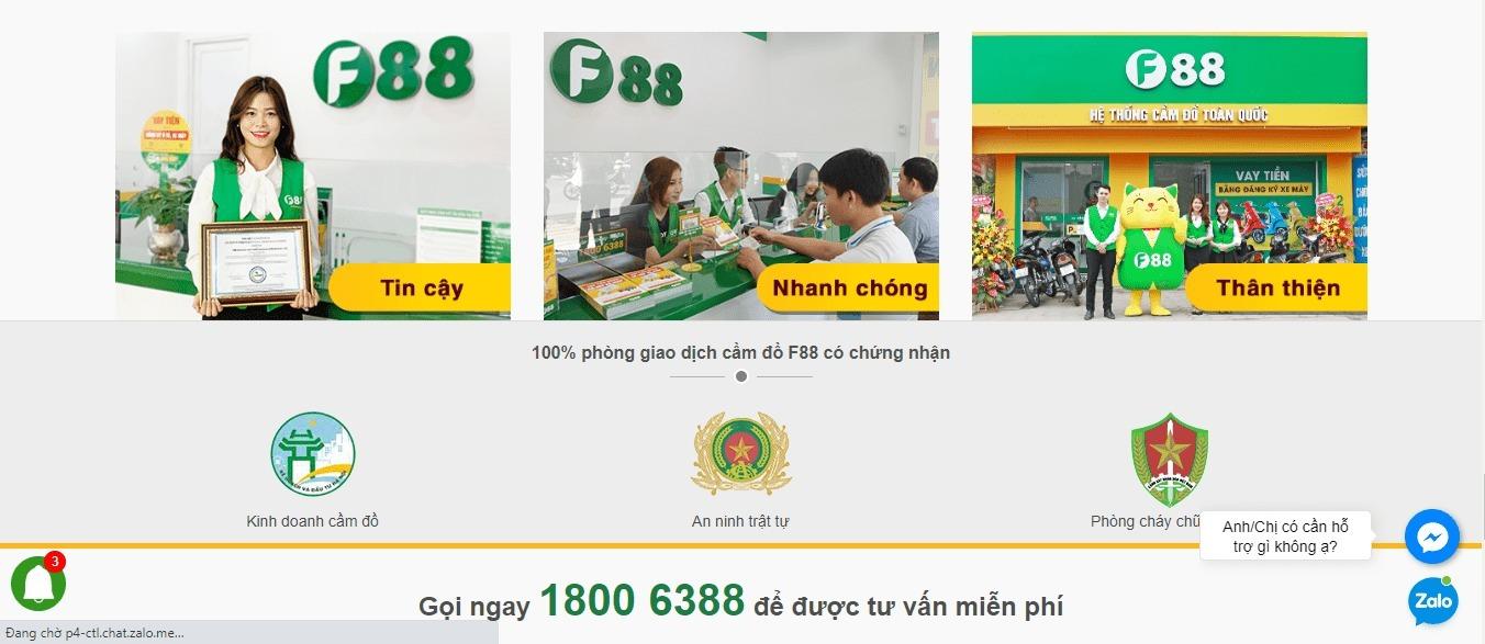 f88 dịch vụ cho vay tiền nhanh toàn quốc (@f88) Cover Image