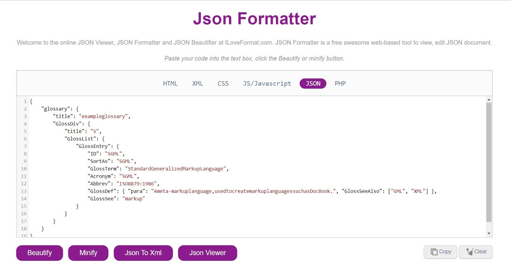 Json Formatter (@jsonformatter) Cover Image