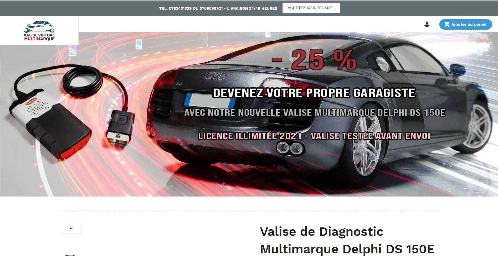 valise de diagnostic automobile (@valisevoituremultimarque) Cover Image