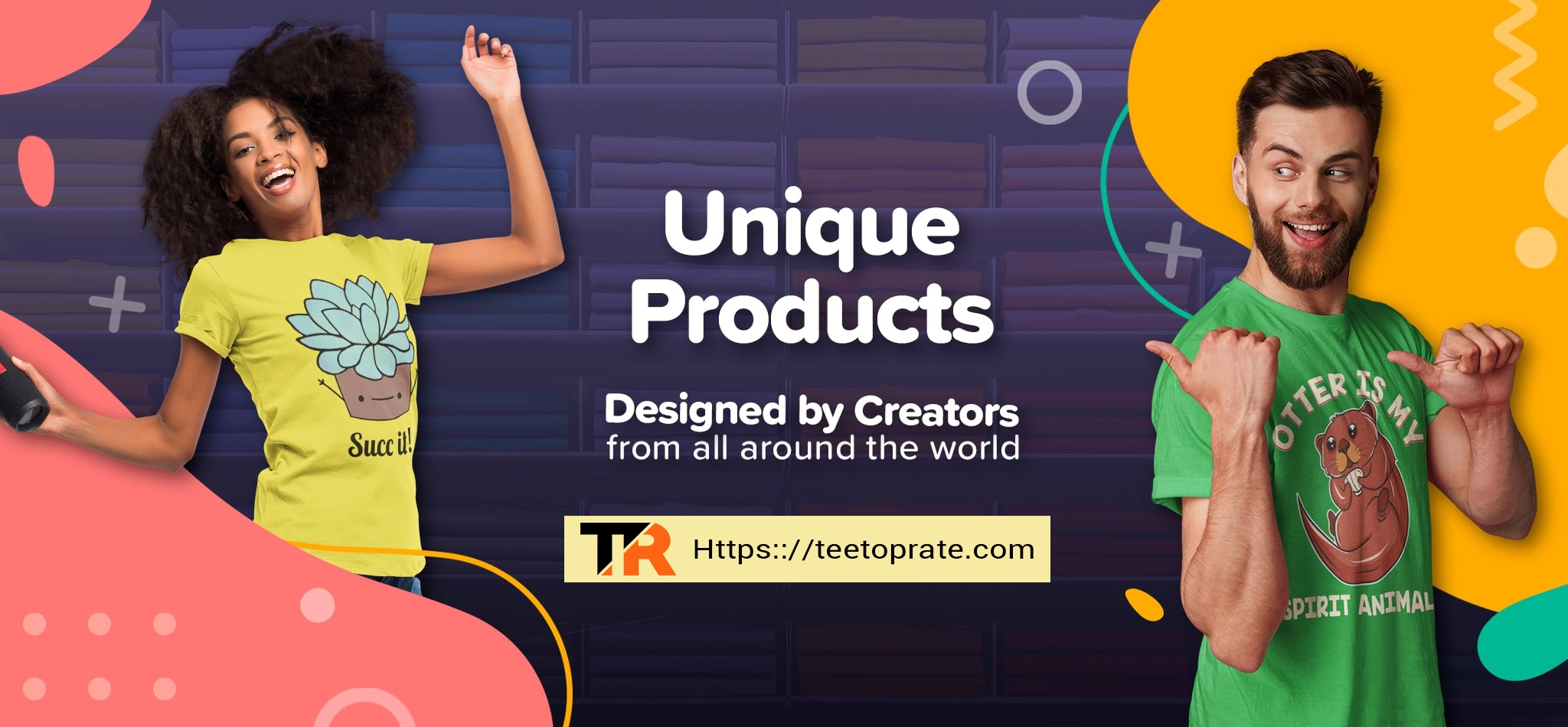Teetoprate Store (@teetoprate) Cover Image