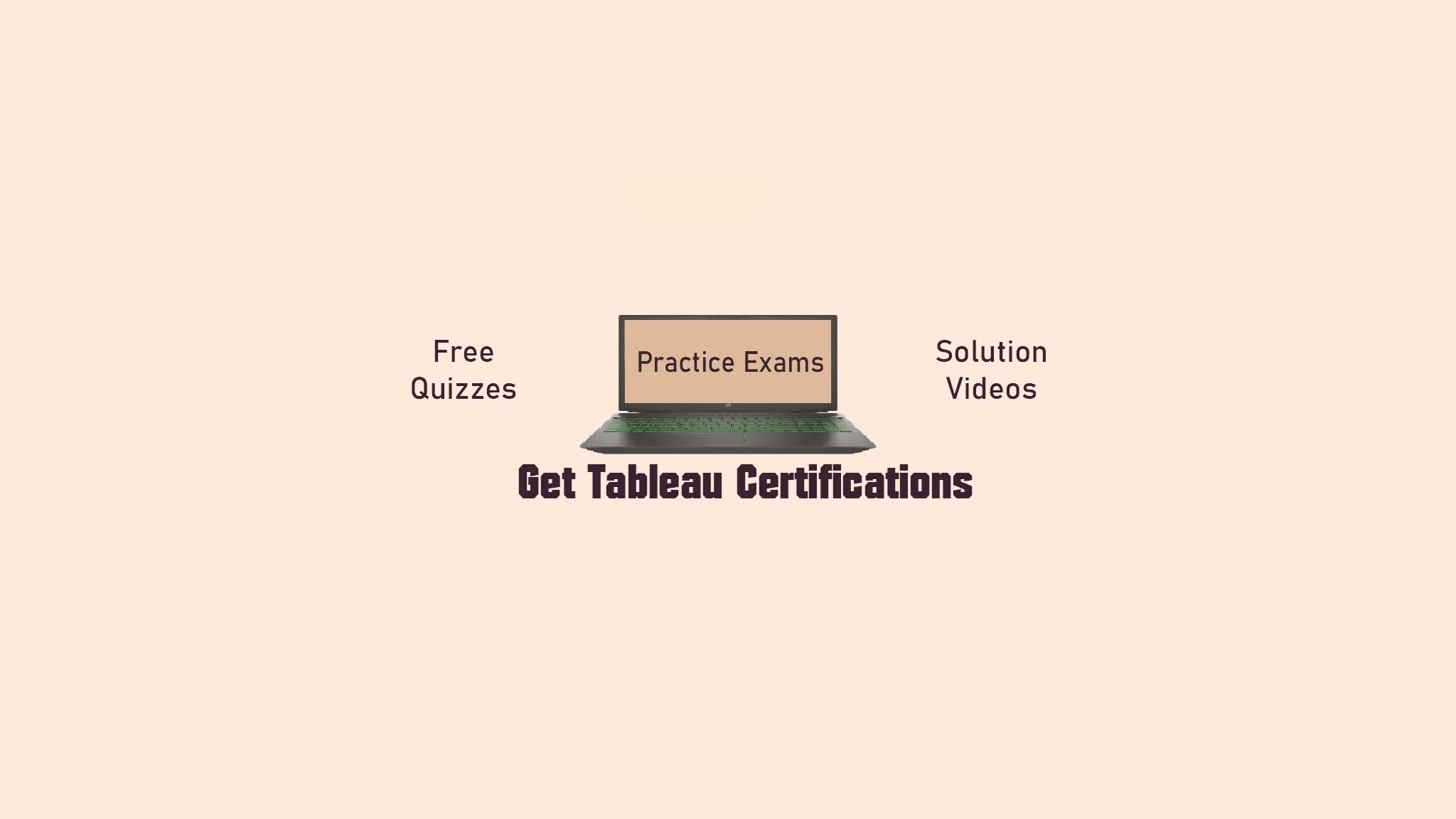 Get Tableau Certifications (@gettableaucertifications) Cover Image
