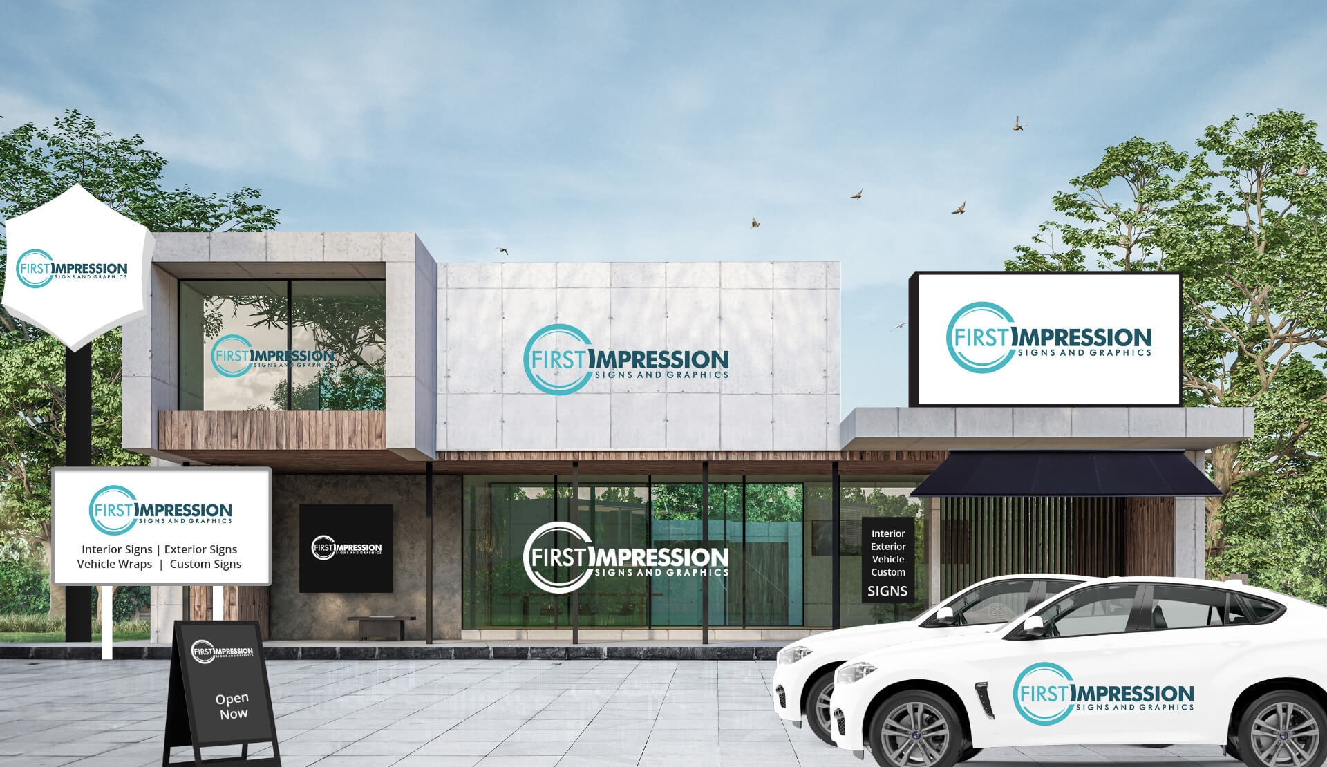 First Impression Signs & Graphics (@omahasigns) Cover Image