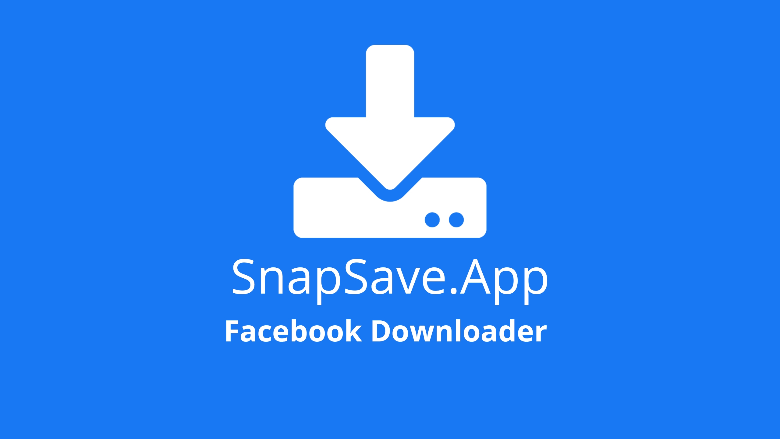 SnapSave DownloadVideoFb (@snapsaveapppl) Cover Image