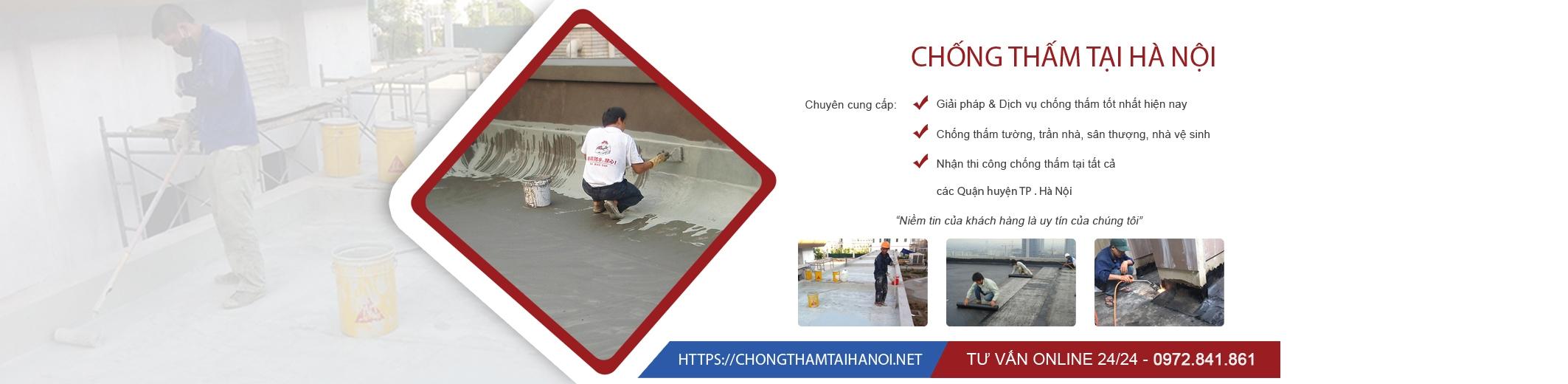 Chống thấm tại Hà Nội (@chongthamtaihanoivn) Cover Image