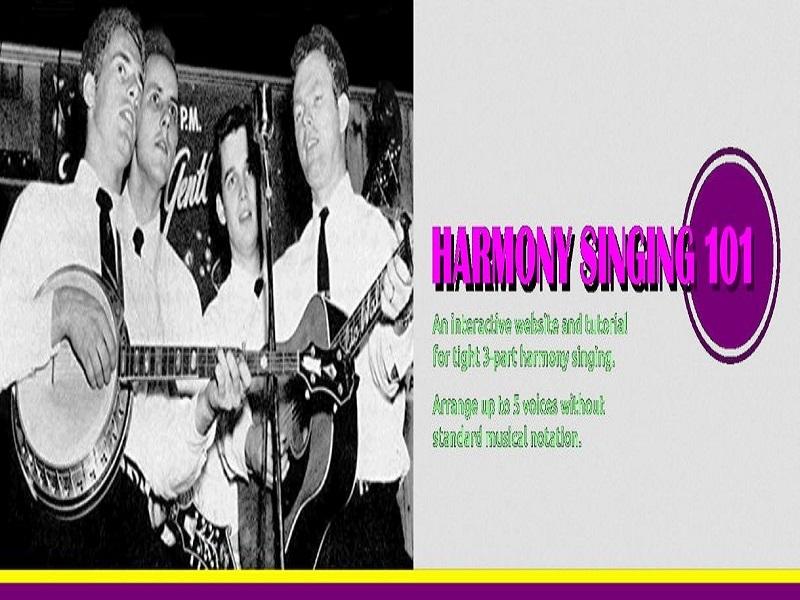 Harmony Singing 101 (@harmonysinging) Cover Image
