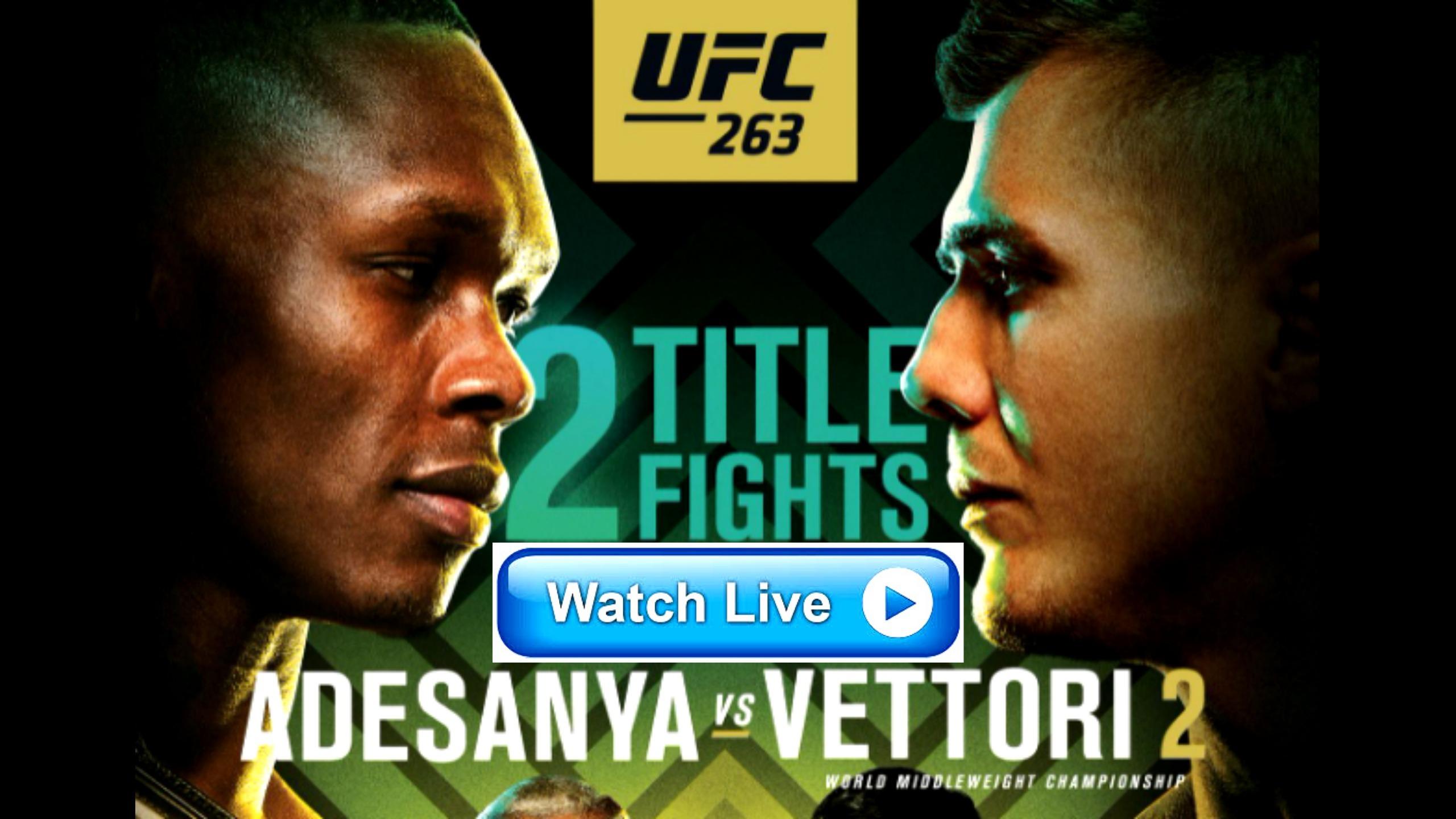 Adesanya vs. Vettori 2 Live Stream Free (@adesanyavsvettori2livestream) Cover Image