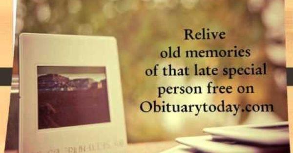 Obituarytoda (@obituarytoday) Cover Image