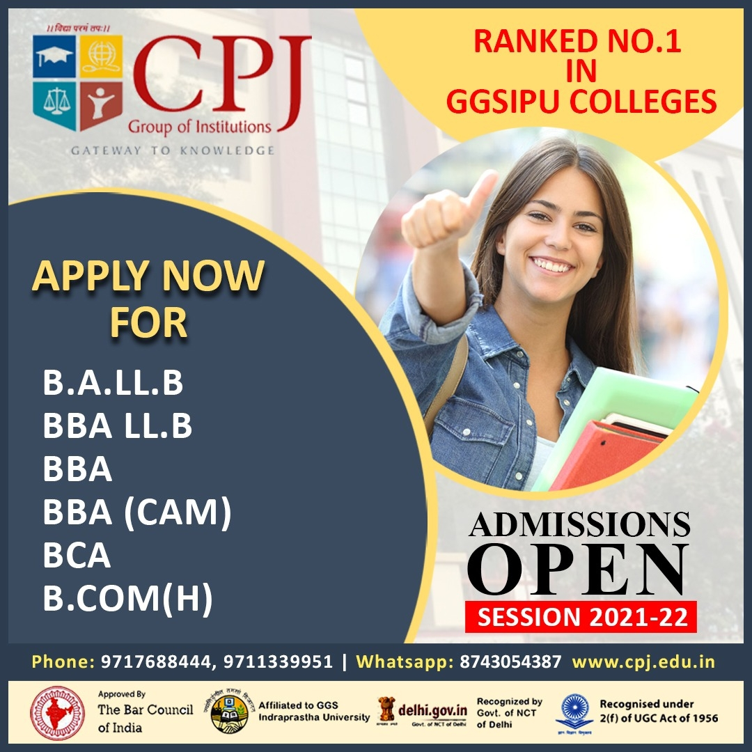 BBA LLB Colleges in Delhi (@bballbcollegesindelhi) Cover Image