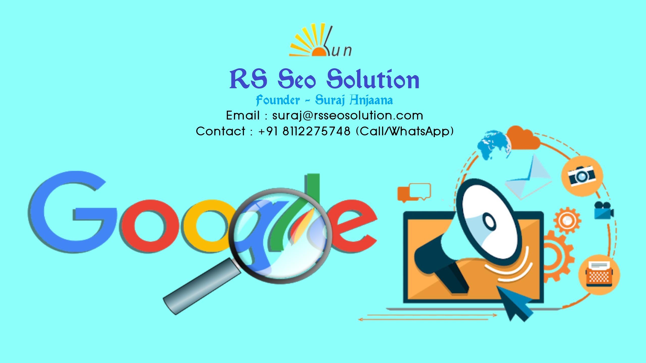 RS Seo Solution (Suraj Anjaana) (@rsseosolution) Cover Image