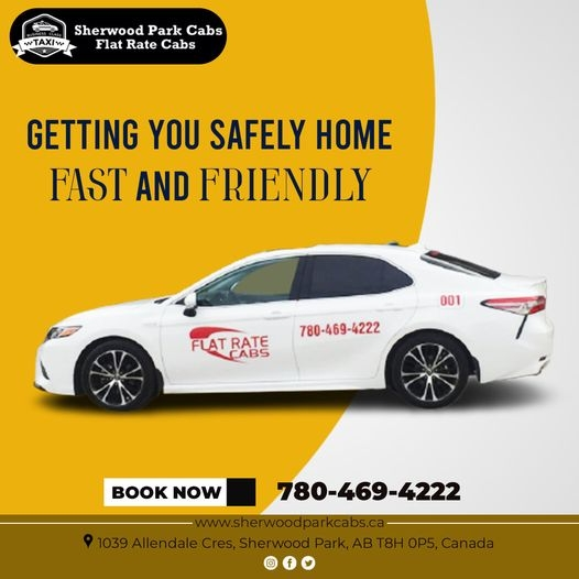 Sherwood Park Cabs - Flat Rate Cabs & Taxi (@sherwoodparkcabs) Cover Image