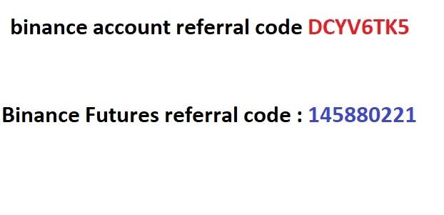 Binance futures referral code (@futuresreferral) Cover Image