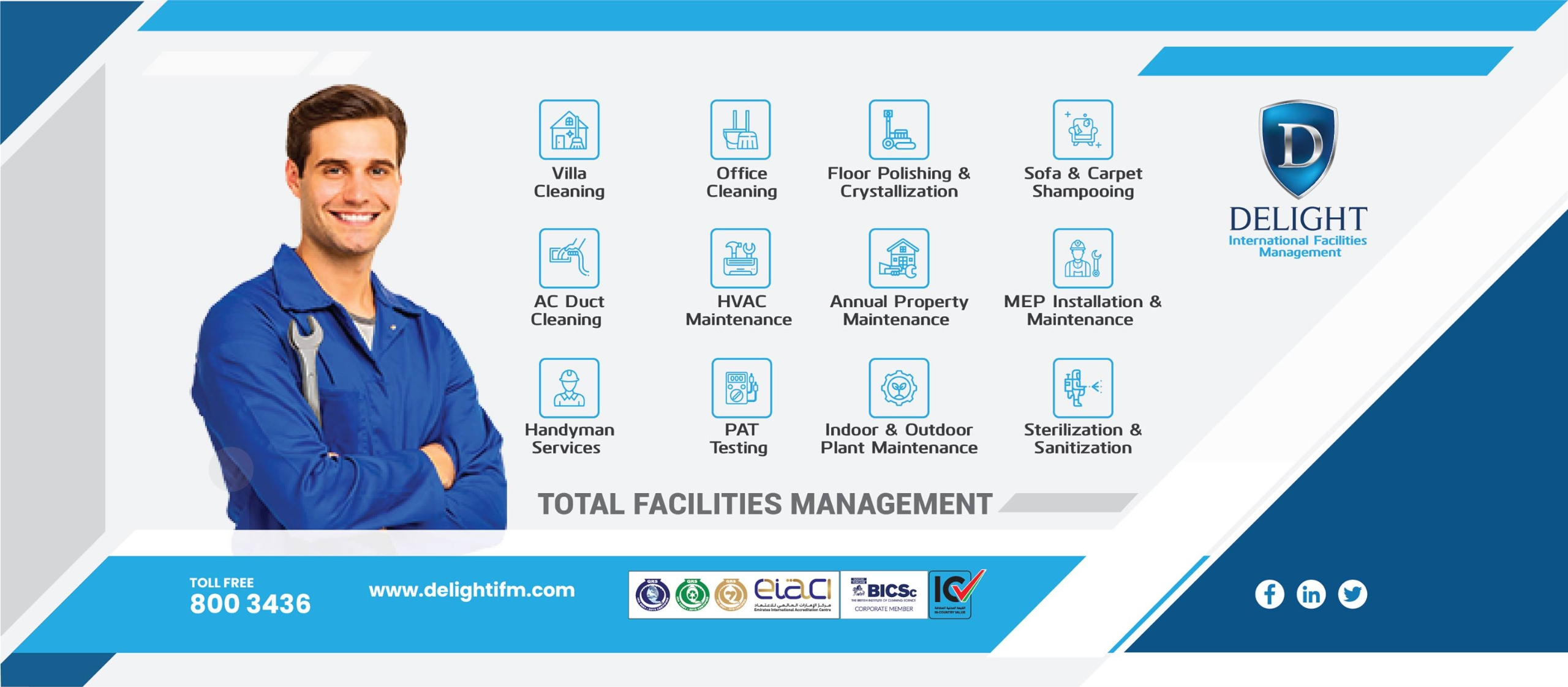Delight International Facilities Management (@delightifm) Cover Image