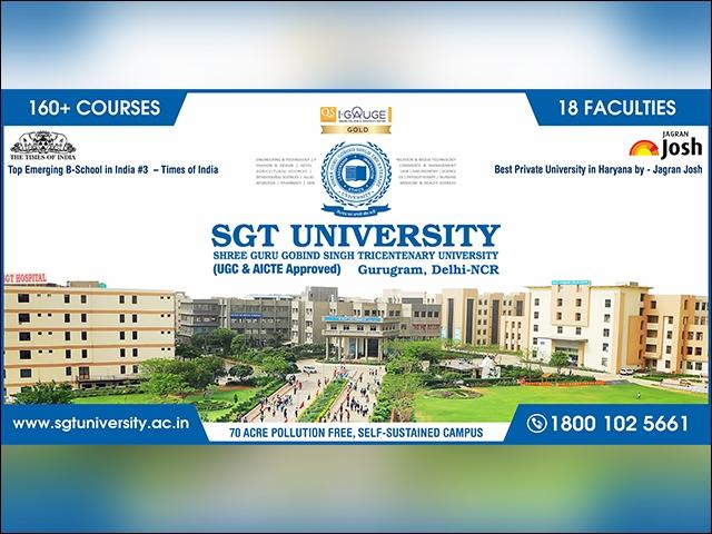 SGT University (@sgtuniversitygurgaon) Cover Image