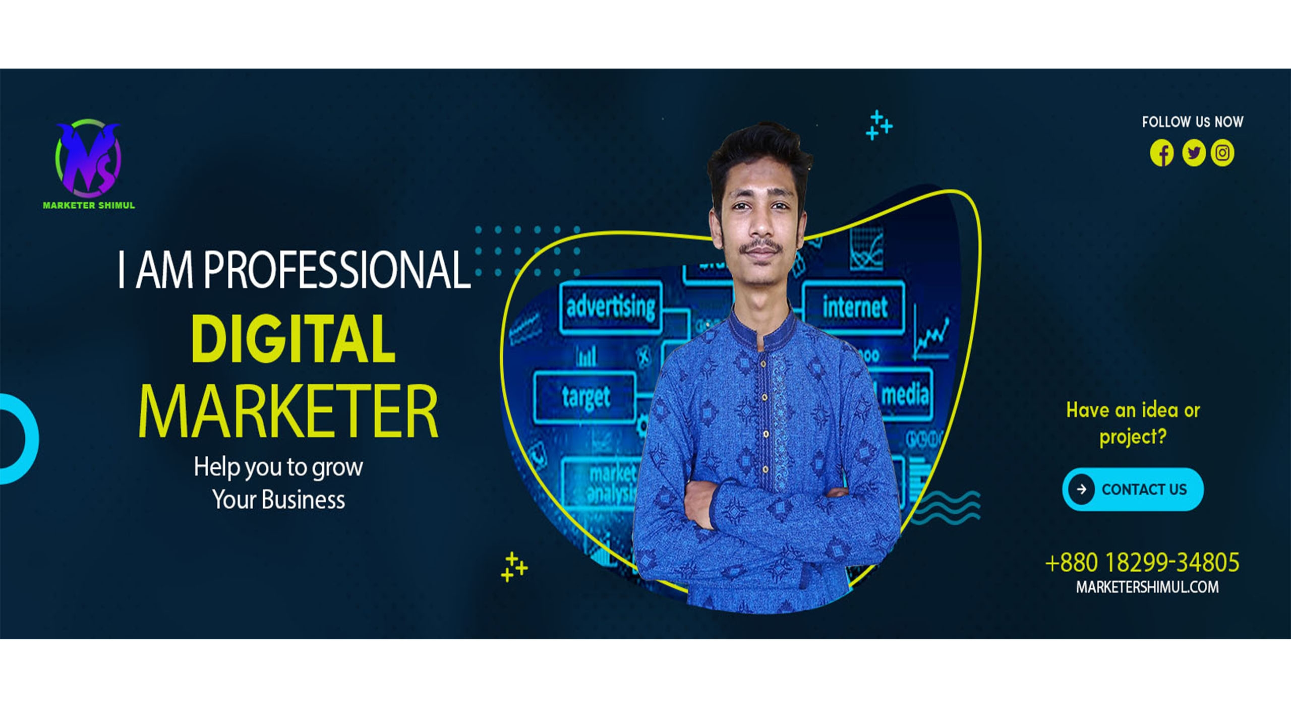 Marketer S (@marketershimul) Cover Image