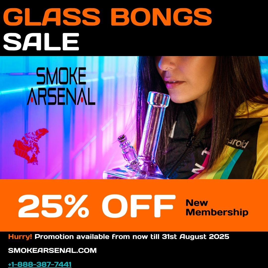 Smoke Arsenal (@glassbongssmokearsenal) Cover Image