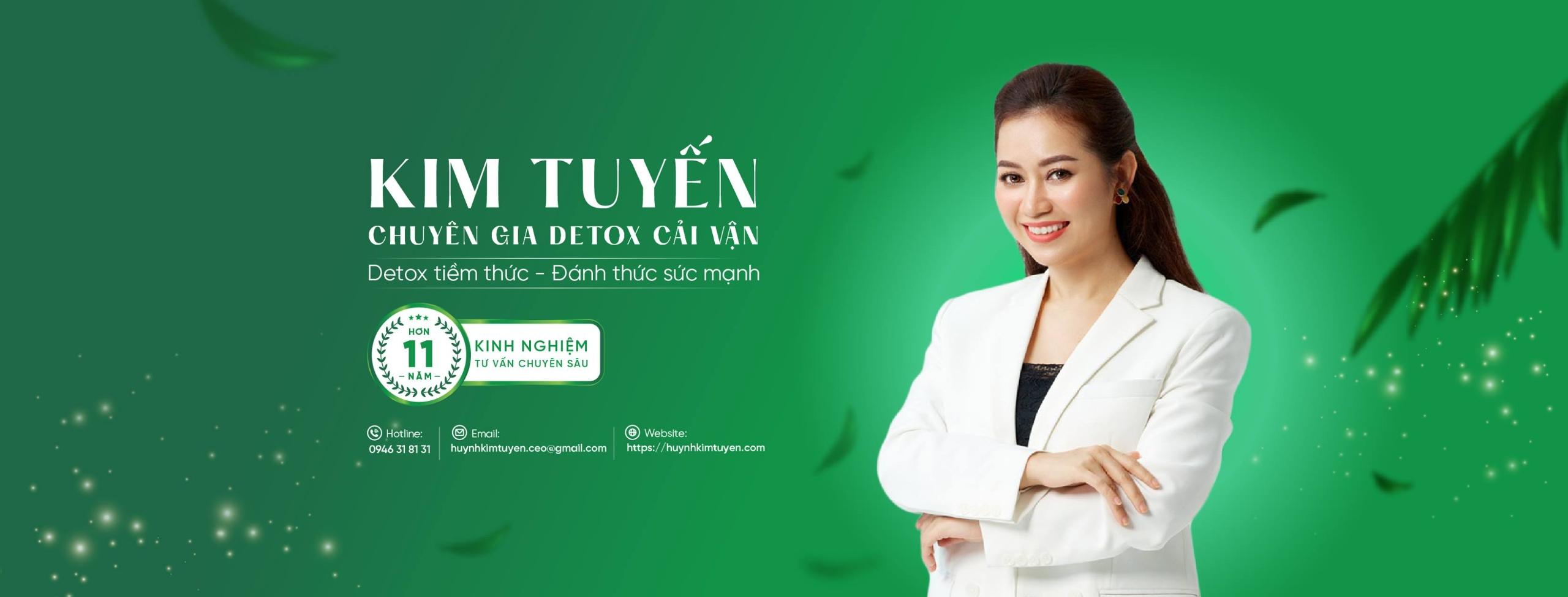 Kim Tuyến chuyên gia Detox cải vận (@huynhkimtuyen) Cover Image