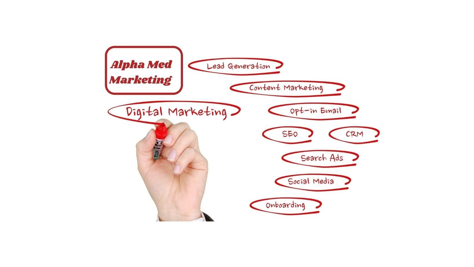 Alpha Med Marketing Agency (@alphamedmarketing) Cover Image
