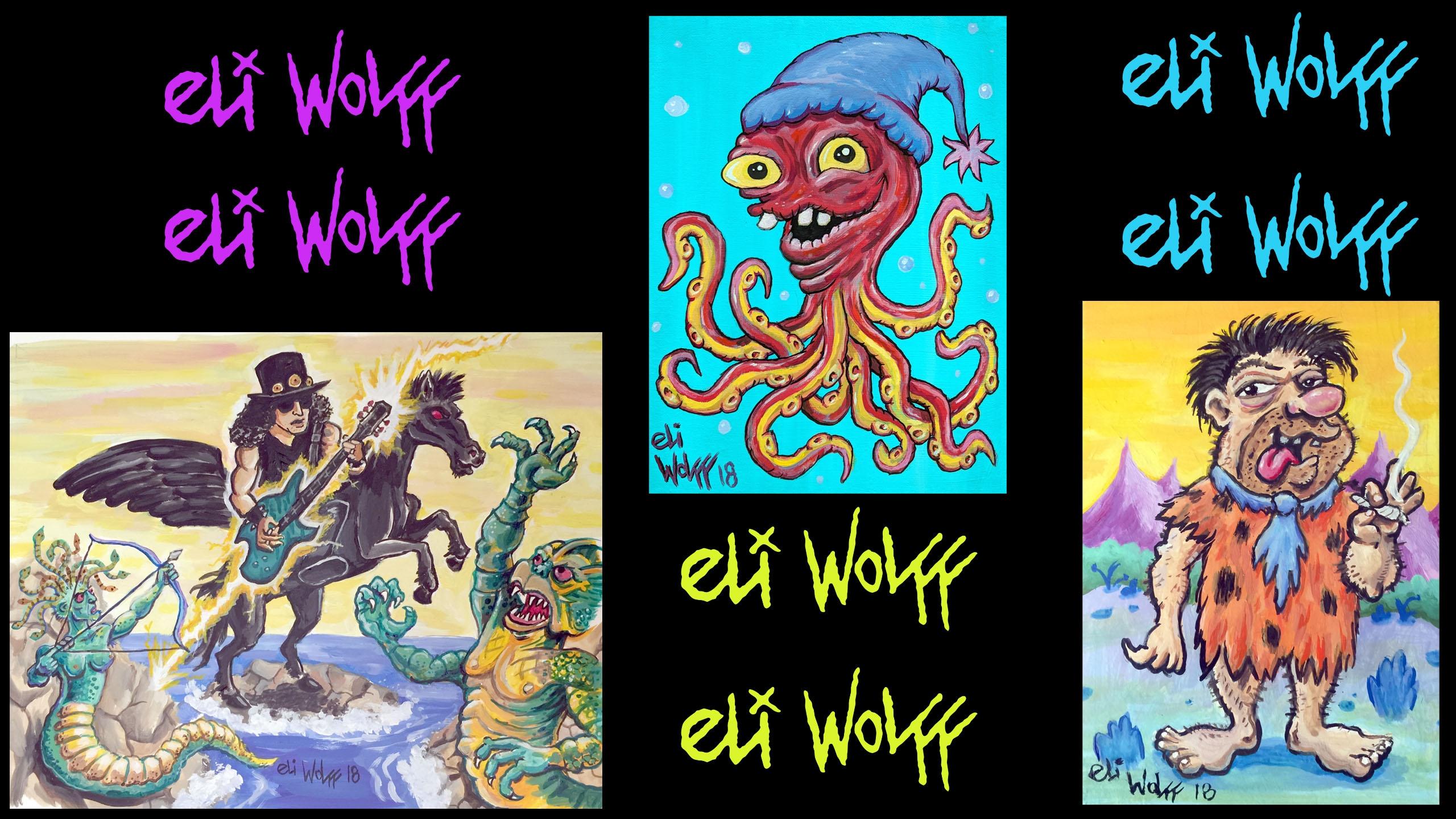 Eli Wolff (@eliwolff) Cover Image