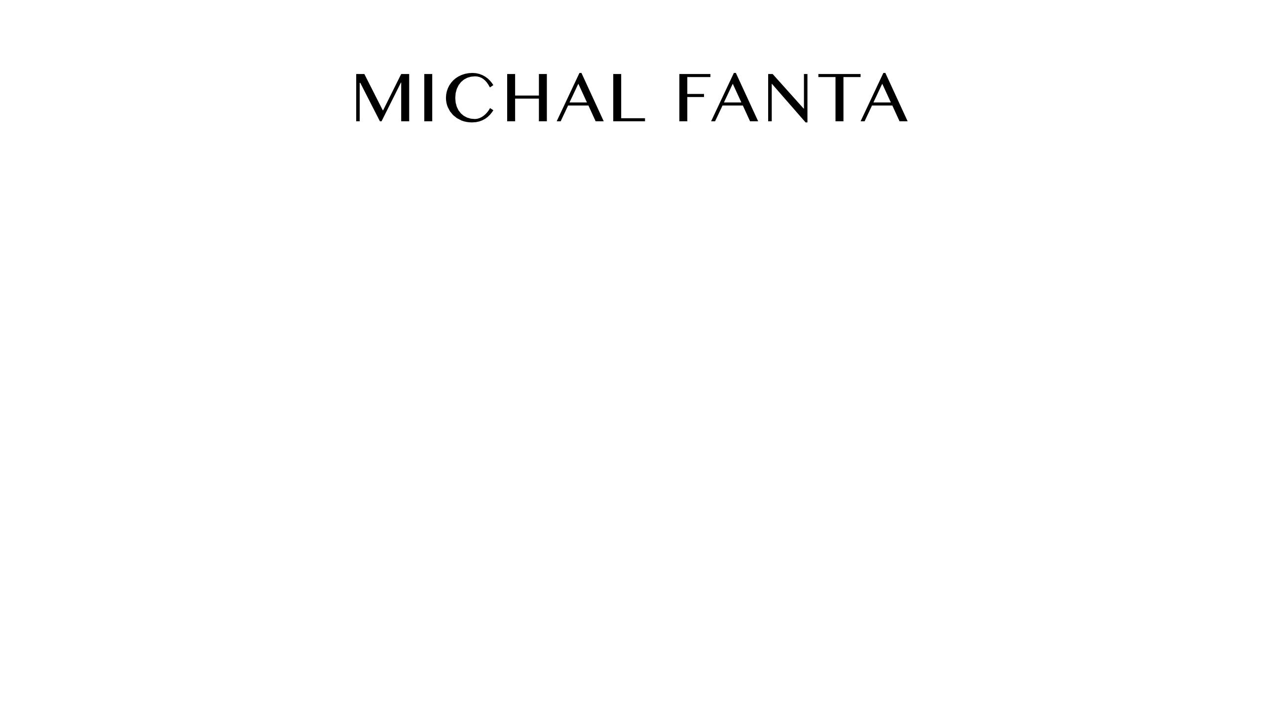 Michal Fanta (@michalfanta) Cover Image