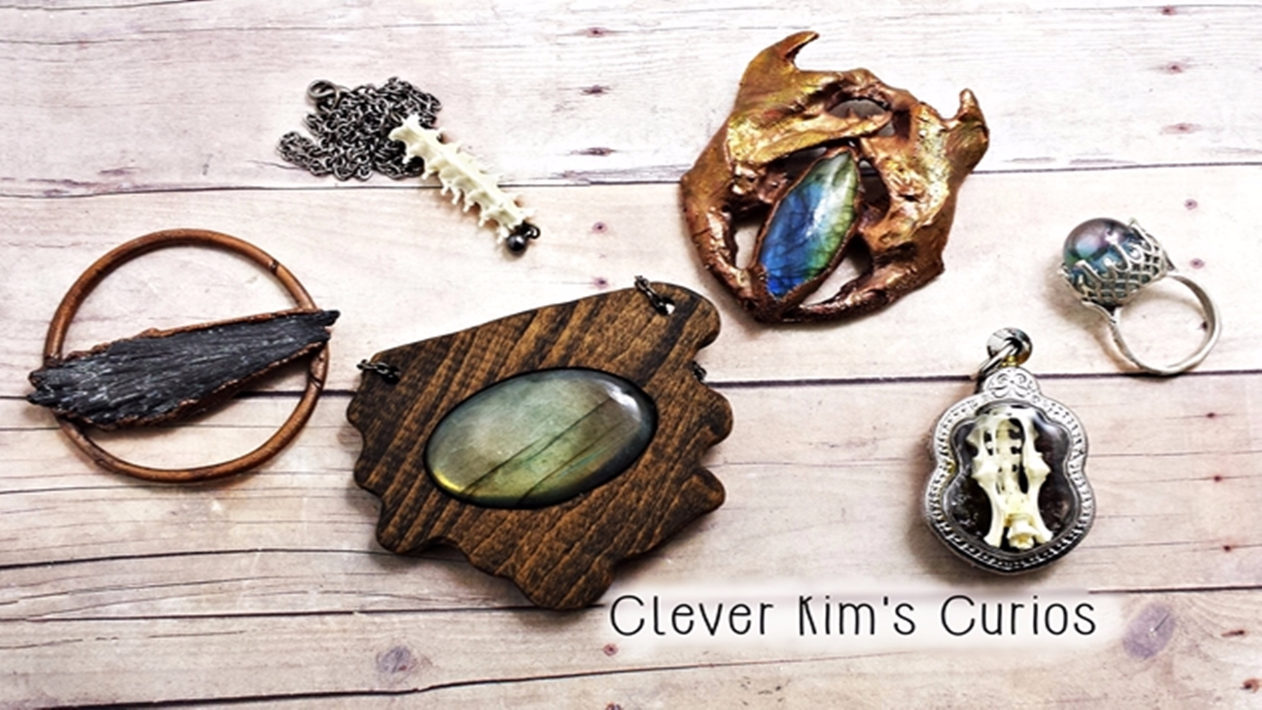 Clever Kim's Curios (@cleverkimscurios) Cover Image